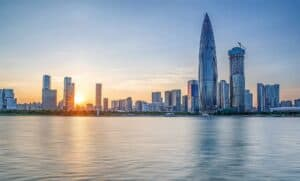 Shenzhen Nanshan District Houhai Cbd/shenzhen City Scenery